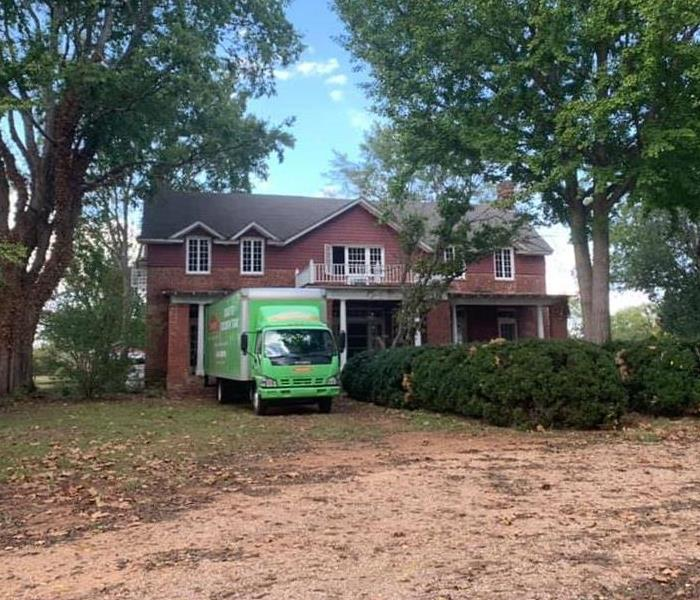 Beautiful historic home that SERVPRO is working to restore.