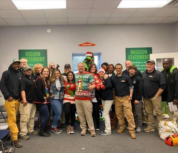 SERVPRO of St. Clair County had a blast at our Christmas party!